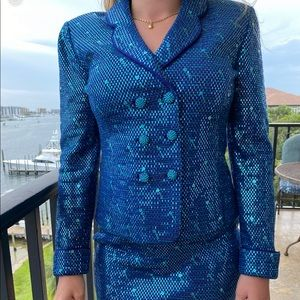 St John Couture Suit by Marie Gray